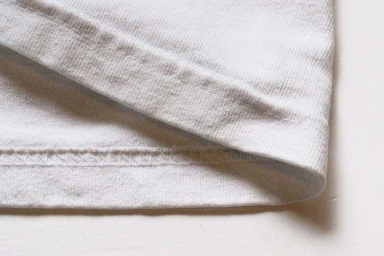二本針平縫いの縫製