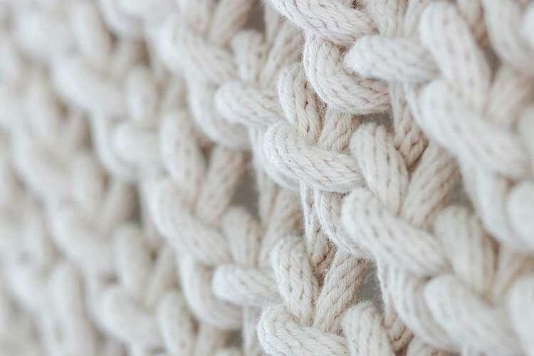 編み物の生地