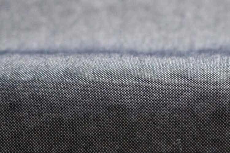 平織りのナイロン生地