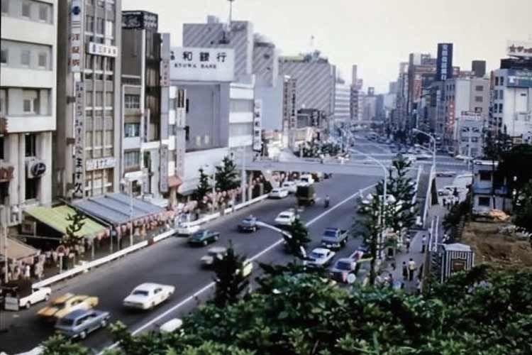1970年代の日本の街並み