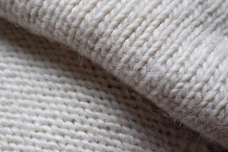 天竺編みの写真