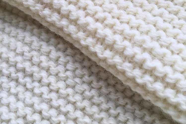 パール編みの写真