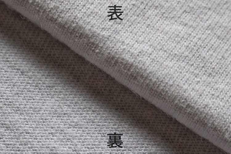天竺編みの表裏