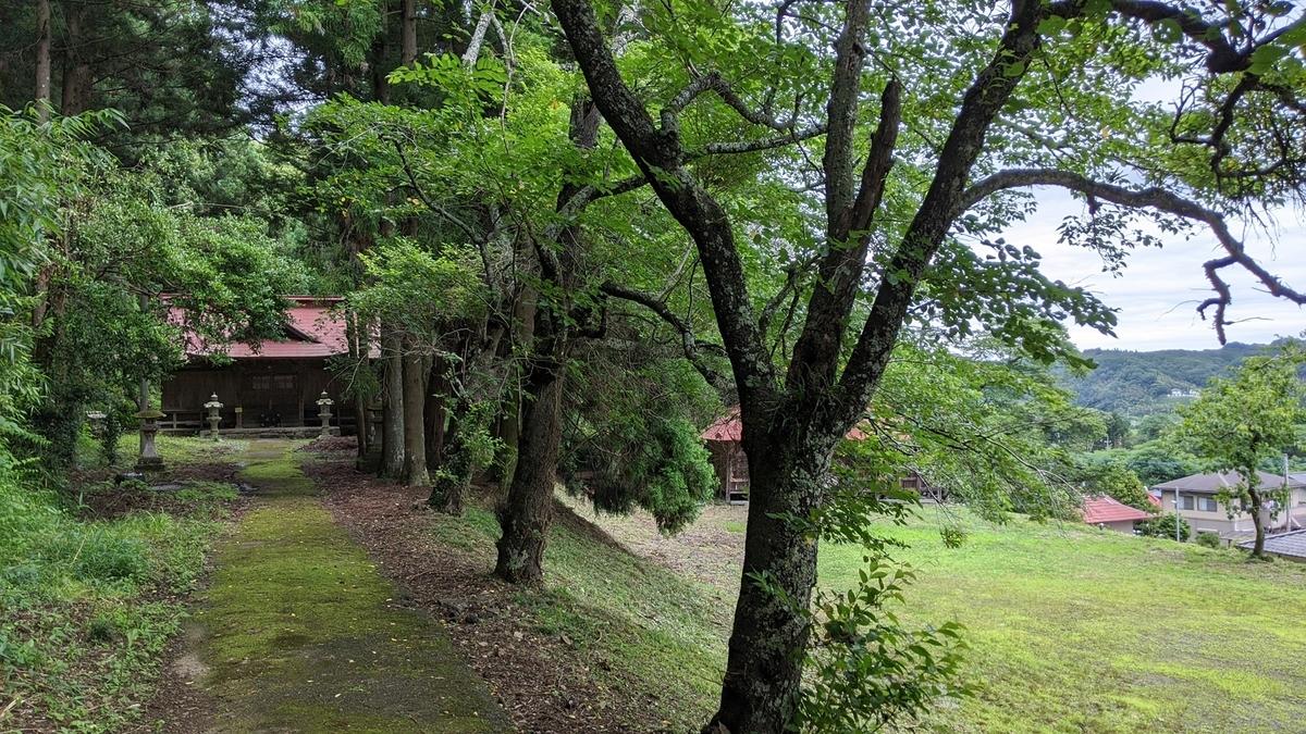 鯉沼家が神主を務める吉田神社