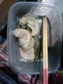 お昼に食べたタケノコの天ぷら。山椒の天ぷらも美味しかったです。
