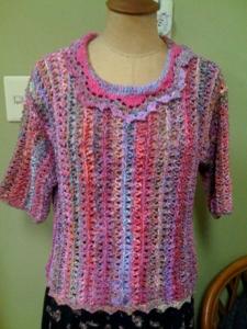 アフガン編みのプル