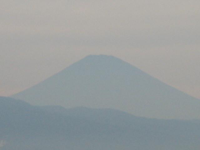 富士山。日本畫のやうに。
