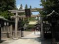 阿倍野神社 鳥居(南側)
