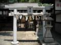 阿倍野神社 勲之宮の鳥居