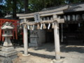 阿倍野神社 祖霊社の鳥居