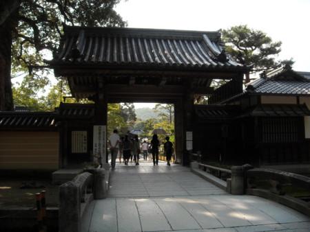 鹿苑寺 総門