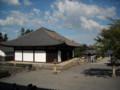 當麻寺 本堂から見た講堂