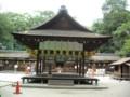 河合神社 舞殿