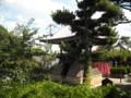 葛井寺 本堂から見た鐘楼