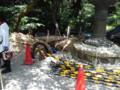 一乗寺の工事状況