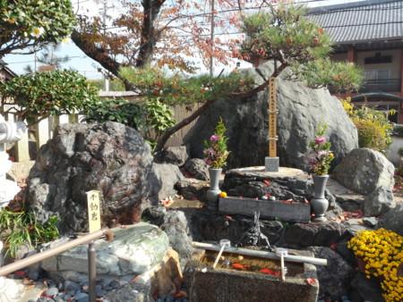 帝釈寺 不動岩