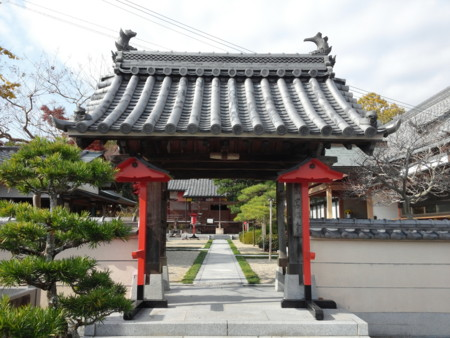 善福寺 山門
