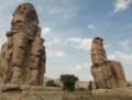 [エジプト旅行]メムノンの巨像