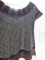 [Crochet]ブラウスのエジング