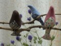 [Handmade]小鳥のモビール