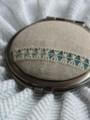 [Handmade]ドロンワークのダブルミラー