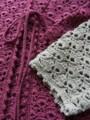 [Crochet]クロッシェリボンカーデ