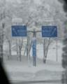 [つれづれ]雪の一般道