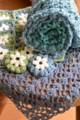 [Crochet]ミニショールとポーチ