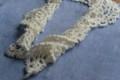 [Crochet]波模様風のつけ衿