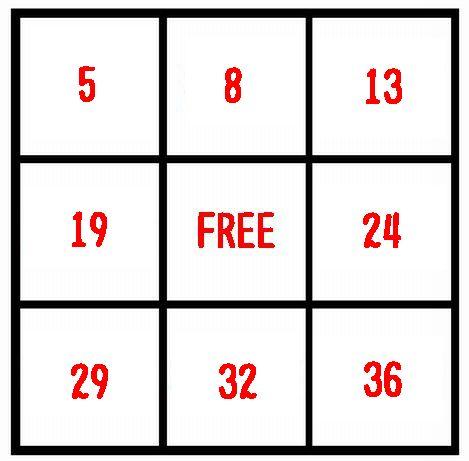 ビンゴ5第5回抽選結果