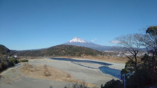 富士川楽座富士山