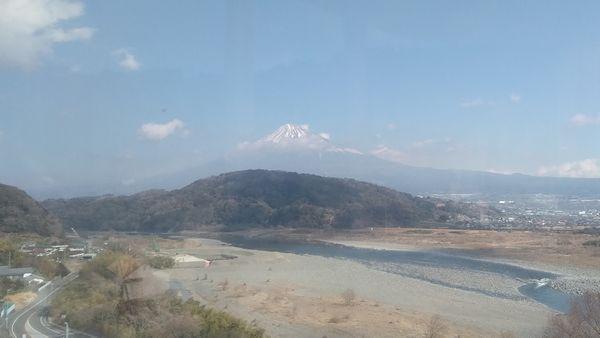 富士川楽座観覧車富士山