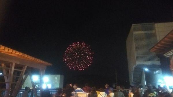 富士川楽座打ち上げ花火