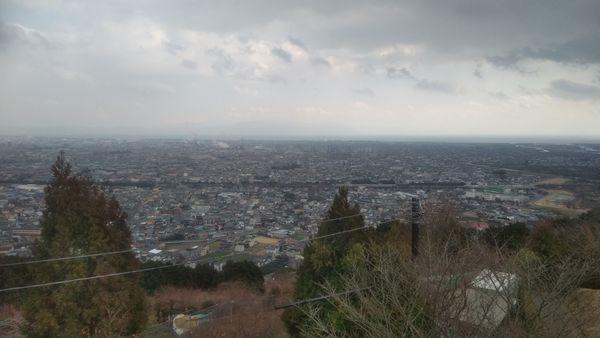 岩本山公園のテラス