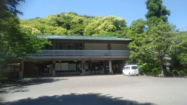 静岡県護国神社社務所前