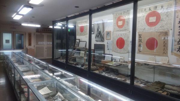 静岡県護国神社遺品館