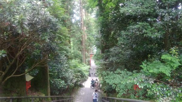 箱根神社頂上