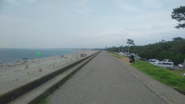 千本浜公園堤防