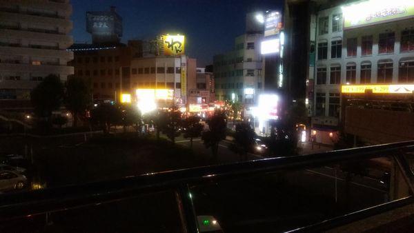富士駅甲子秋まつり上から