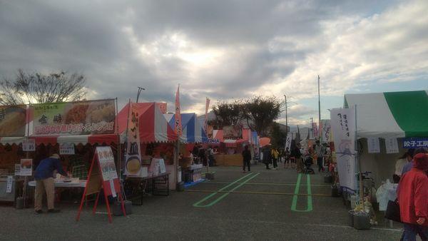 富士産業まつり食べ歩きエリア