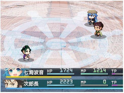 清水港クエスト戦闘画面