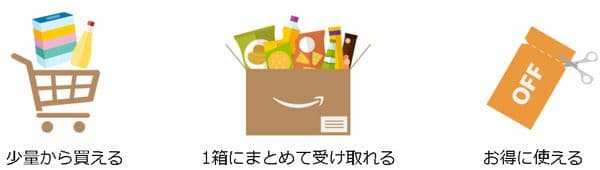 Amazonプライム会員Amazonパントリー