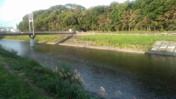富士中央公園潤井川
