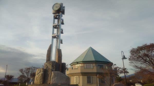 富士中央公園 カリヨン時計塔