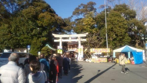 富知六所浅間神社(三日市浅間神社)に初詣