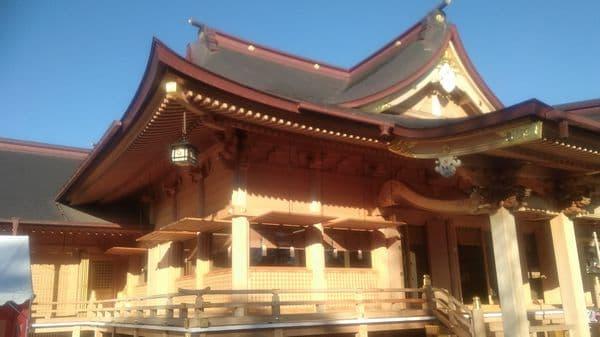 富知六所浅間神社(三日市浅間神社)本殿