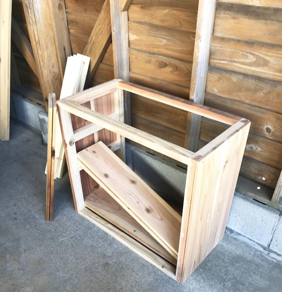 DIYで作る靴箱