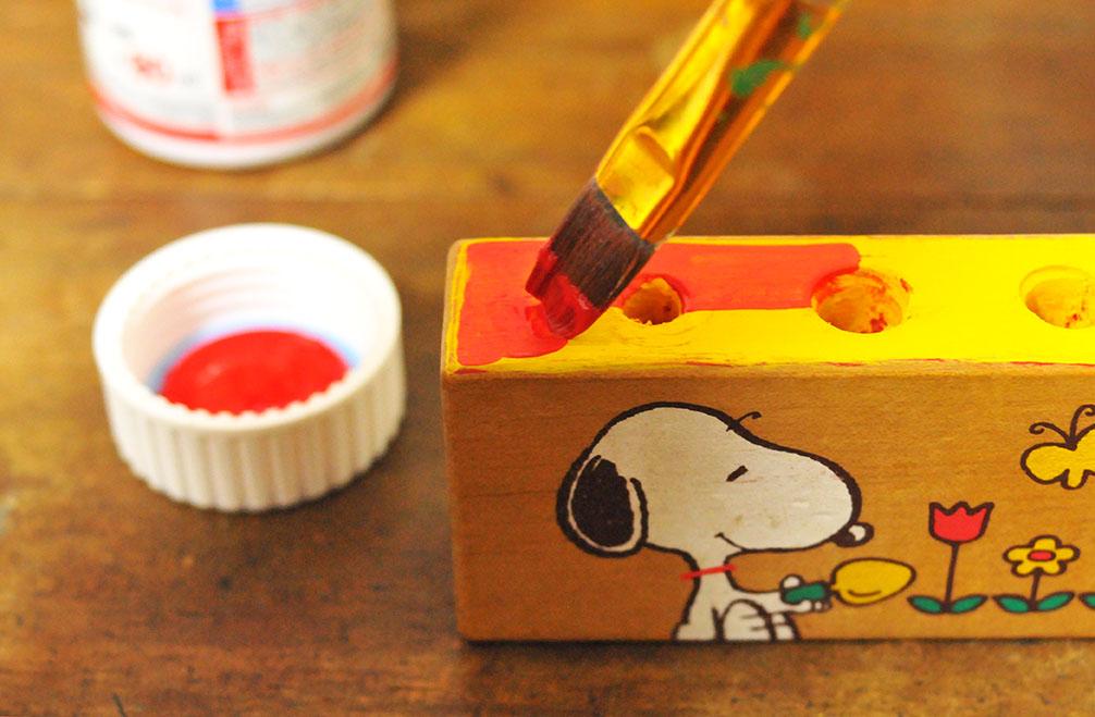 積み木リメイクDIY-色を重ね塗りする-ふるものせいかつ図鑑