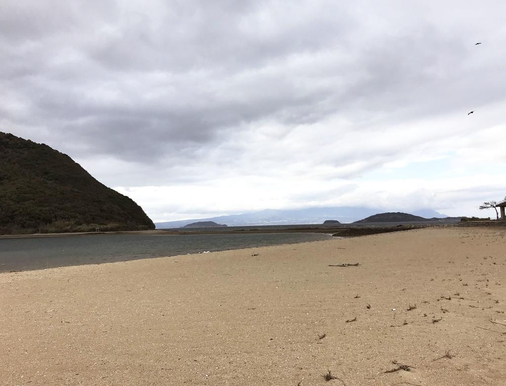 流木拾いに出かけた冬のビーチは閑散としていてカッコイイ-ふるものせいかつ図鑑