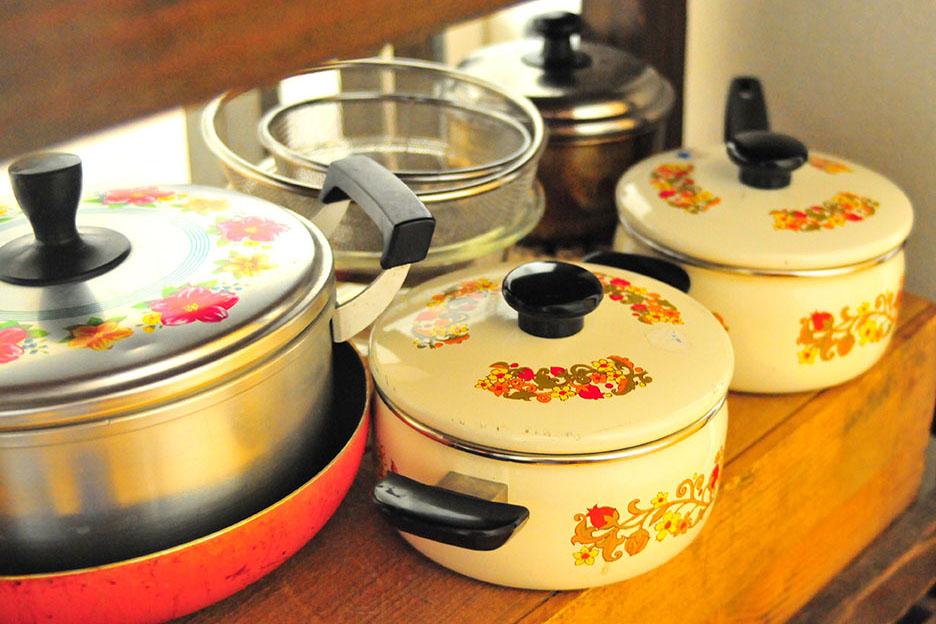 キッチンの鍋はすべて中古で買ったもの-ふるものせいかつ図鑑